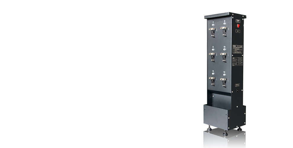 WISDOM NWCR-12: High-efficiency Charger Rack